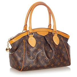 Louis Vuitton-Louis Vuitton Brown Monogram Tivoli PM-Brown