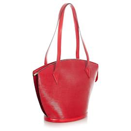 Louis Vuitton-Louis Vuitton Red Epi Saint Jacques Long Strap GM-Red