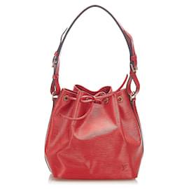 Louis Vuitton-Louis Vuitton Red Epi Petit Noe-Red