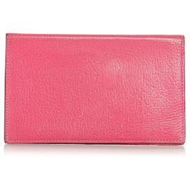 Hermès-Hermes Pink Agenda PM Housse pour ordinateur portable-Rose