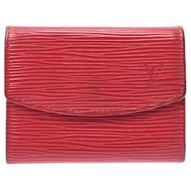 Louis Vuitton-Louis Vuitton Porte-monnaie-Red