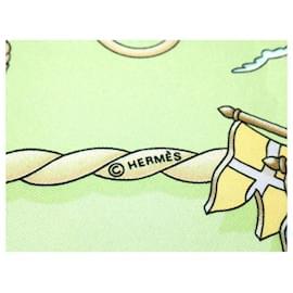 Hermès-Echarpe Hermès-Multicolore