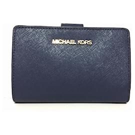 Michael Kors-Michael Kors portefeuille-Bleu