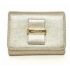 Chloé-Chloé wallet-Golden