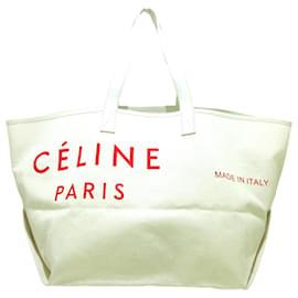 Céline-Celine Tote bag-White