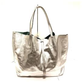 Tiffany & Co-TIFFANY & CO. Tote bag-Silvery