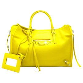 Balenciaga-Balenciaga Papier-Yellow