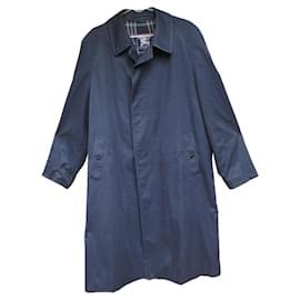 Burberry-raincoat man Burberry vintage t 52-Navy blue