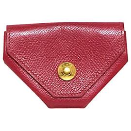 Hermès-Portefeuille Hermes-Rouge