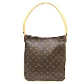 Louis Vuitton-Louis Vuitton Looping GM-Brown
