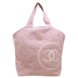 Chanel-Chanel tote bag-Pink
