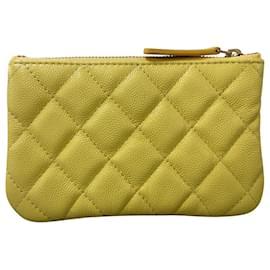 Chanel-Chanel clutch bag-Yellow