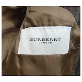 Burberry-Burberry London coat size 48-Dark brown