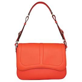 Hermès-Sac Harnais Orange Fluo 2017-Orange