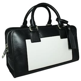 Loewe-Bicolor Amazona 28 Handbag-Black