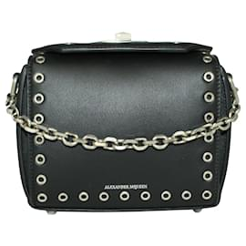 Alexander Mcqueen-Black Box 16 Clutch/ Shoulder Bag-Black