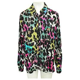 Diane Von Furstenberg-Colorful Print Shirt-Multiple colors