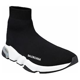 Balenciaga-Speed Sneaker-Black