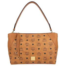 MCM-Klara Shoulder Bag-Brown