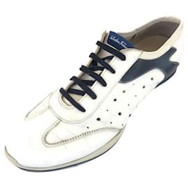 Salvatore Ferragamo-Sneakers-White