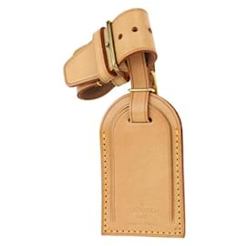 Louis Vuitton-Vachetta Luggage Tag and Poignet Set-Other