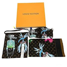 Louis Vuitton-Runway Virgil Friends Animals Mask and Bandana Set-Other