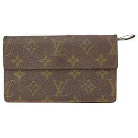 Louis Vuitton-Ultra Rare Vintage Porte Tresor Sarah Flap Wallet Long-Other