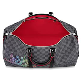 Louis Vuitton-LV Keepall 50 Limited edition-Grey