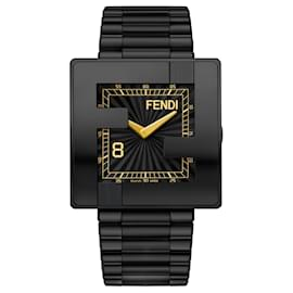 Fendi-Fendimania Bracelet Watch-Black