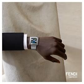 Fendi-Fendimania Bracelet Watch-Silvery,Metallic