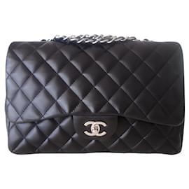 Chanel-Chanel Classic Gm black bag-Black