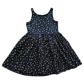 Ralph Lauren-Flower-White,Navy blue