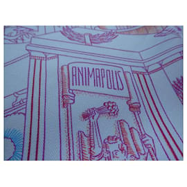 Hermès-square hermès animapolis nine with box white background-White