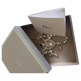 Dior-Colliers-Bijouterie argentée