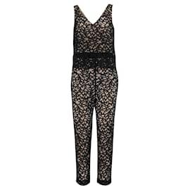 Trina Turk-Lace Jumpsuit-Black