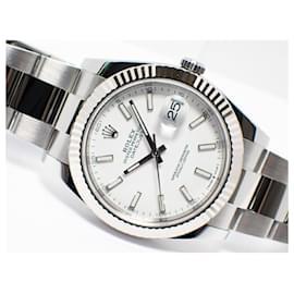 Rolex-Rolex Datejust41 White Index Dial 126334 Genuine unused Mens-White