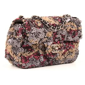 Chanel-Classic Chanel bag from Timeless line.-Multiple colors