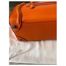 Céline-Celine Luggage bag-Orange