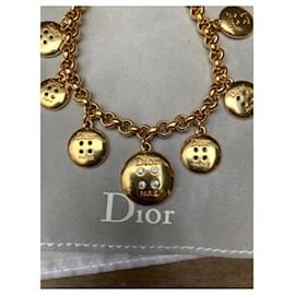Dior-Bracelet collector Kate Moss défilé Dior-Bijouterie dorée
