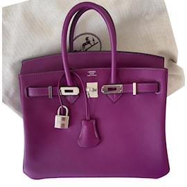 Hermès-Birkin 25-Violet