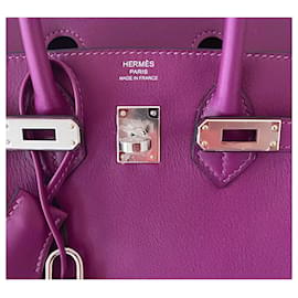 Hermès-Birkin 25-Lila
