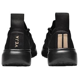 Veja-Rick Owens x Veja V-knit in Full Black-Black