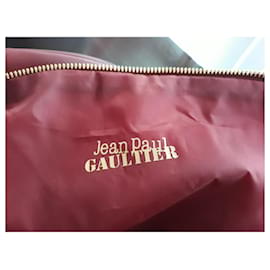 Jean Paul Gaultier-Jean Paul Gaultier sport bag-Dark red
