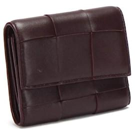 Bottega Veneta-Bottega Three-fold wallet-Brown