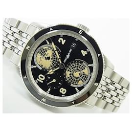 Montblanc-Montblanc 1858 Geosphere black Dial bracelet MB125872 Mens-Black