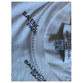 Balenciaga-Tops Tees-White