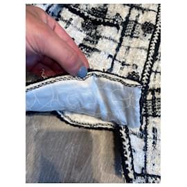 Chanel-Skirt suit-Black,Beige