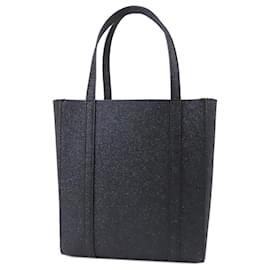 Balenciaga-Balenciaga Black XXS Everyday Leather Shopping Tote-Black