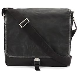 Prada-Prada Tessuto Crossbody Bag-Black