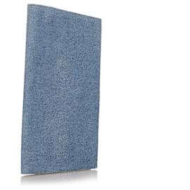 Céline-Celine Blue Denim Notebook Cover-Blue